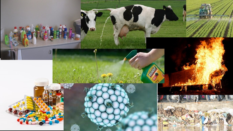 Emerging contaminant sources