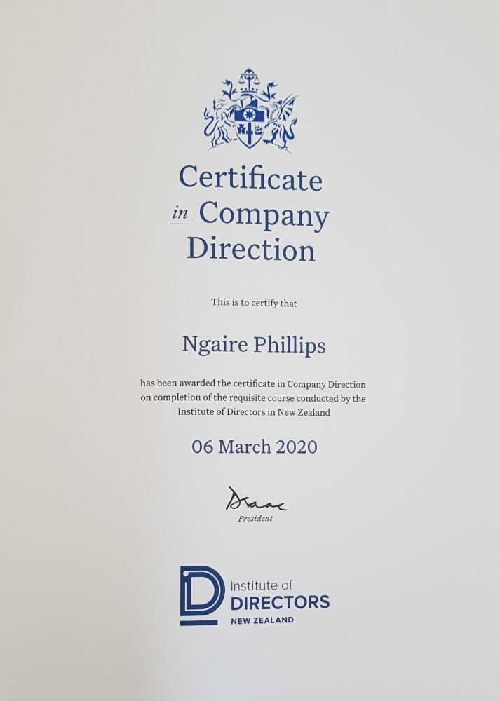 Iod-Certificate-of-Direction